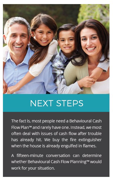 Behavioural Cash Flow - Next Steps